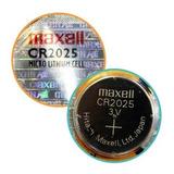 Pila Botón Maxell Japón Cr2025 3v Reloj Calculadora Alarma