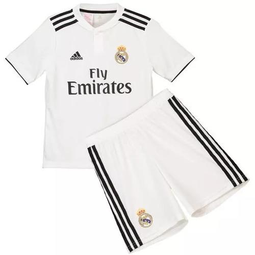 f3becca03bb00 Conjunto Real Madrid Niño Por Encargu