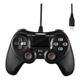 Joystick Ps4 Cableado Compatible Control Con Cable Play4 Dim