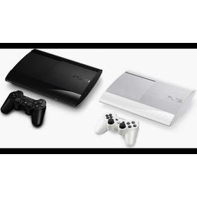Ps3 160gb Ref. + 10 Juegos (fifa 19 Gta5 Etc) + 2 Controles