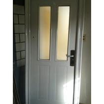 Puertas De Exterior Chapa Semi Blindadas Con Vidrio Doble