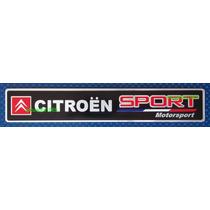 Emblema Insignia Logo Citroen Sport Motorsport En Aluminio