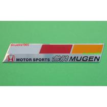 Emblema Insignia Honda Motor Sports Mugen Logo