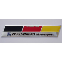 Emblema Insignia Volkswagen Motorsport Logo Vw