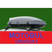 Valija Baul Portaequipaje De Techo 350l Reales Calidad Motol