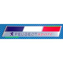 Emblema Insignia Peugeot Sport Logo