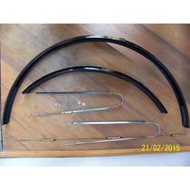 Guardabarro En Chapa Para Bicicleta Rod.28 Con Accesorios