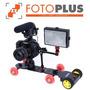 Carro Con Motor P/ Slider / Dolly Para Foto Y Vídeo