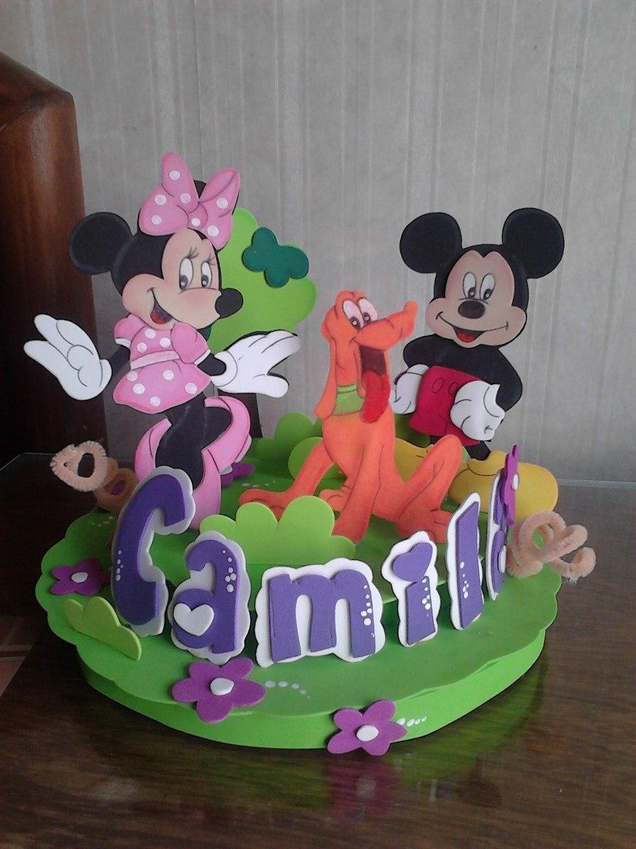 Adornos para tortas infantiles en foami imagui for Decoracion infantil goma eva