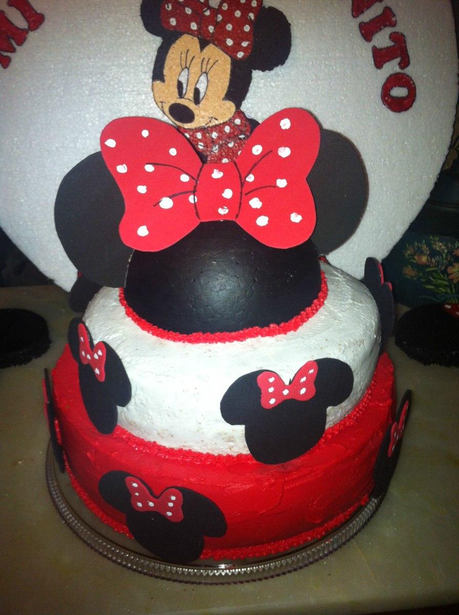 Adorno Para Torta Minnie Mouse - $ 250,00 en MercadoLibre