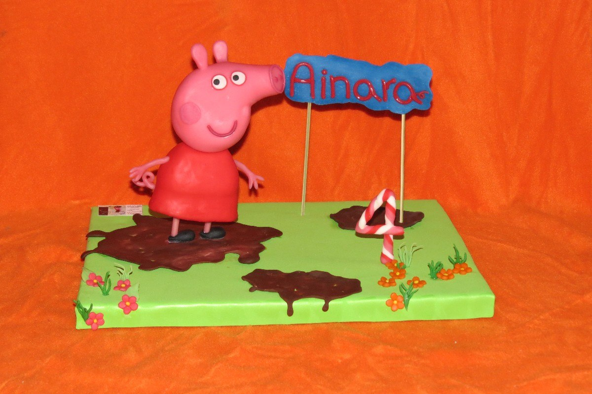 Decoracion Cumplea?os Peppa Pig ~ adorno torta peppa pig porcelana fria cumplea os decoracion Car Tuning