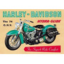 Chapas Vintage Motos Harley Davison Promoción 4 Envío Gratis