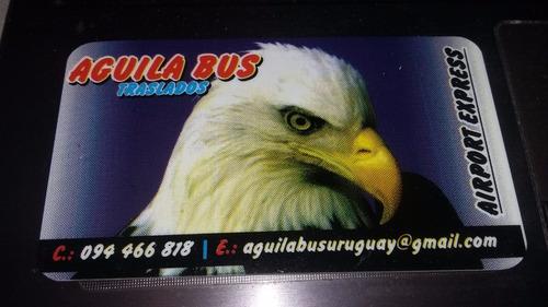 Aguila Bus Traslados Pasajeros Aeropuerto Fiestas