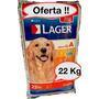 Lager Premium 22 Kg + Deliciosos Snacks De Realo ! + Envios