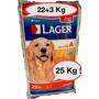Oferta Limitada Lager Premium 22kg +3kg+snacks+envios !!