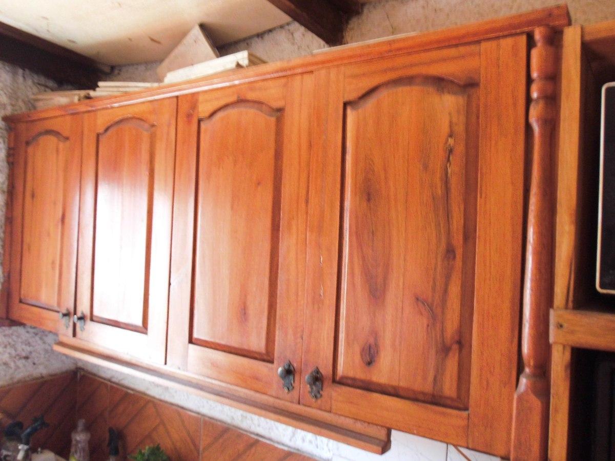 Muebles de cocina amoblamientos de cocina a medida en for Muebles de madera para cocina