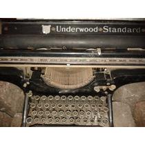 Antigua Y Rara Maquina De Escribir-carril Largo- Underwood