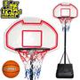 Aro De Basket Profesional En Hierro + Pelota + Bulones + Red