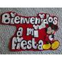 Carteles Para Cumpleaños Ò Fiestas Infantiles En Goma Eva