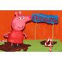 Adorno Torta Peppa Pig Porcelana Fria Cumpleaños Decoracion