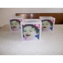 Velas Fanales Personalizados Con Foto, 15 Años, Bautismos