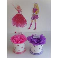 Centros De Mesa De Barbie Princesa Disney Echos En Tarrito
