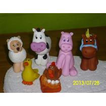 Adornos Para Tortas Infantiles De Animales En Porcelana Fría