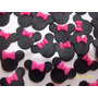 Apliques Souvenirs Minnie Cumpleaños Goma Eva