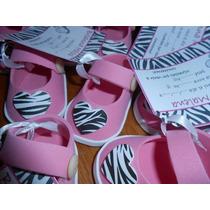 Souvenirs Zapatito Goma Eva Nacimiento.baby Showers-bebe