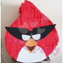 Piñata. Cumpleaños Angry Birds.