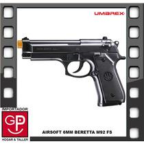 Pistola Airsoft 6mm Beretta M92 Fs