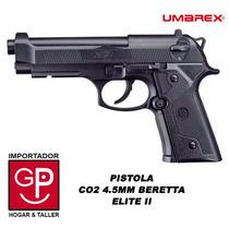 Pistola Co2 4.5mm Beretta Elite Ii Umarex