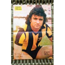 Antiguo Poster Peñarol Indio Walter Olivera.