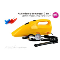 Aspiradora + Compresor Auto 2en1-12v .x Encendedor Unico!!!