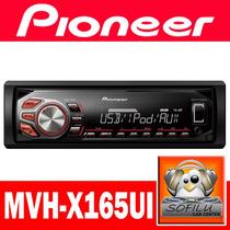 Radio Pioneer Mvh-x165ui, Usb, Mixtrax, Ipod/iphone - Sofilu