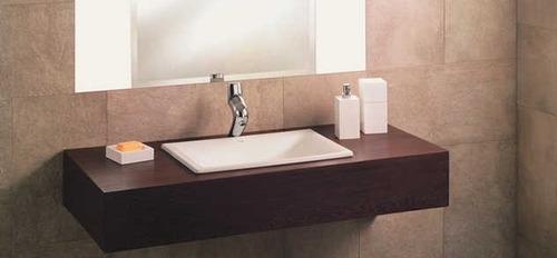 Bachas Para Baño En El Tigre:Bachas De Loza En Blanco /piletas Para Baño Incepa Embutir – U$S 89