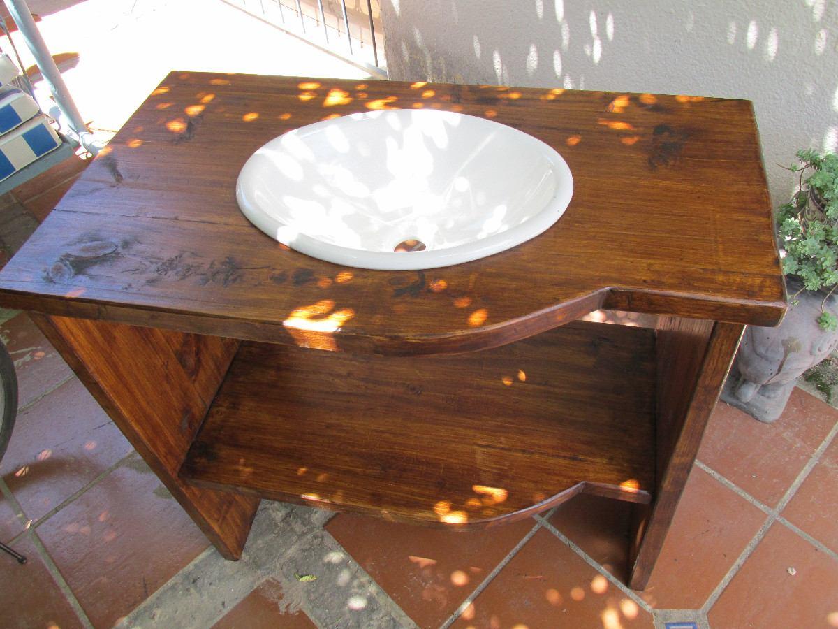 Bachas para ba o de madera for Banos rusticos de madera