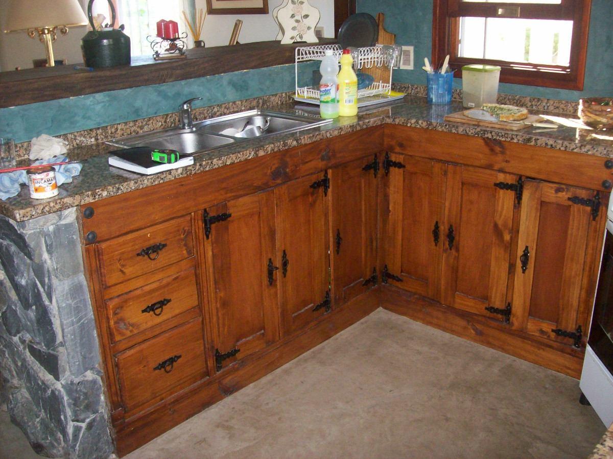 Muebles de cocina bajo mesada hd 1080p 4k foto - Puertas de cocina rusticas ...