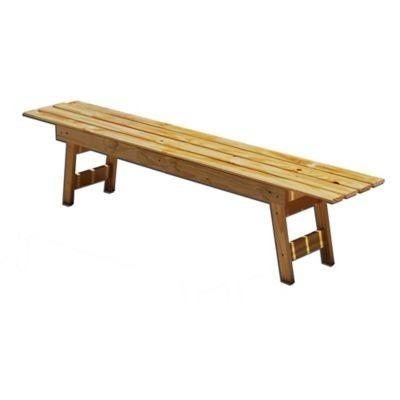 Casas cocinas mueble banco de jardin de madera for Bancos de jardin precios