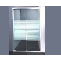 Mampara Ajustable Vidrio Puerta Corrediza Ducha 51117