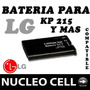 Bateria Para Lg Kp215 Kp105 Kp106 Kp150 Kp151 Kp210 Kp100