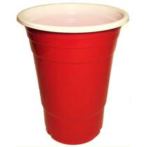 Vasos Rojos Plástico X50 Fiesta Redcups.uy