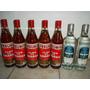 Lote Bebidas,5 Amarga Vesubio 1l. Y 2 Grapa Sanremo 1l.