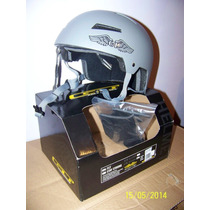 Casco Gt Fly Nuevo, Color Gris, Talle L/xl 58-61cm Bmx Skate