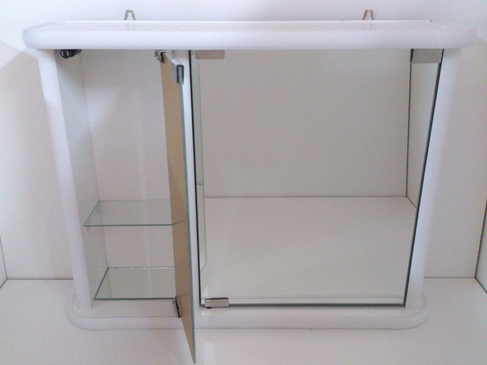 Botiquin Para Baño En Pvc:Botiquin-espejo Mediano 2 Cuerpos Para Baño – $ 1660,00 en