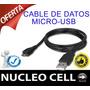 Cable De Datos Micro-usb Para Blackberry Q10 Q5 Z10