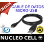 Cable De Datos Micro-usb Para Samsung Galaxy Ace Duos S6802