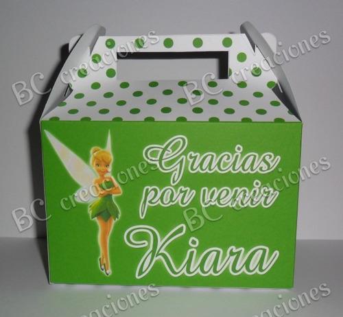 Cajas - Cajitas Para Sorpresitas- Campanita (tinkerbell) - $ 290 ...