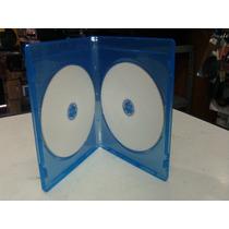 Cajas ,estuches Para Dvd Blu Ray Dobles,pack 10 Unidades