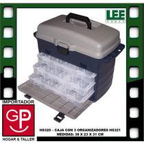 Caja Con 3 Organizadores Hs320 38x23x31cm